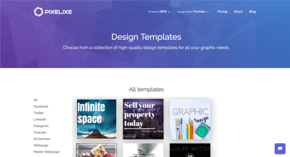 Where To Find Free Social Media Graphic Templates Pixelixe Blog
