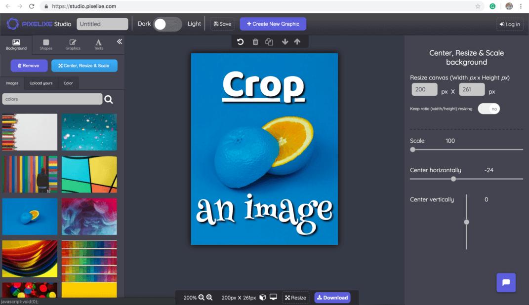 Crop Image Pixelixe Cropping Photos Online Easily